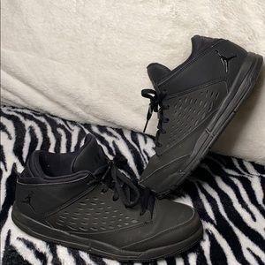 All black Jordan's